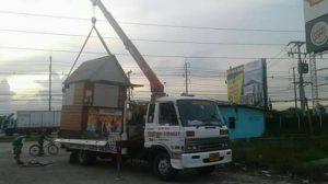 รถบรรทุกติดเครนรับจ้าง
